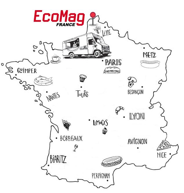 Livraison de Food truck dans toute la France